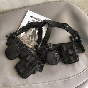 6xw Tactical Army Borsa a tracolla Airsoftgun Army Handgun PolicePistol Holster Molle Hunting Sling Crossbody Bag J1209