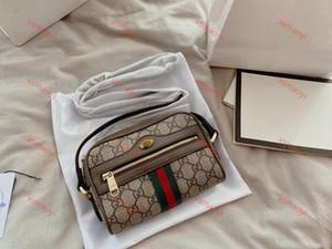 Gucci package omuz çantası anahtar Retro atmosfer crossbody torba Ophidia 2020 Klasik Fransız stili bozuk para cüzdanı bayanlar