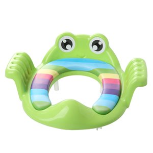 Baby Child Potty Toilet Trainer Seat Step Stool Ladder Adjustable Training Chair comfortable cartoon cute toilet seat children 201013