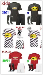 Manchester 2020 2021 united UTD soccer jerseys CAVANI VAN DE BEEK B. FERNANDES RASHFORD football shirt 20 21 man + kids kit HUMANRACE fourt