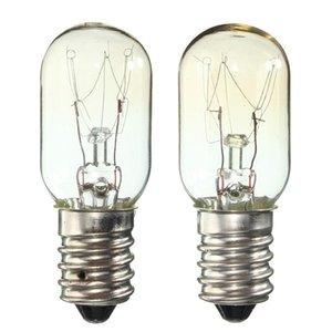Edison Bulb E14 Ses 15w / 25w Frigorífico Luz Frigorífico Lâmpada Lâmpada de filamento de tungstênio branco quente iluminação AC220 -230v
