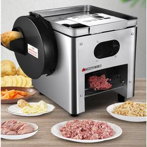 Neue multifunktionale Schneidemaschine 850W Edelstahl kommerzielle Slicer Desktop elektrische Fleischstanzmaschine