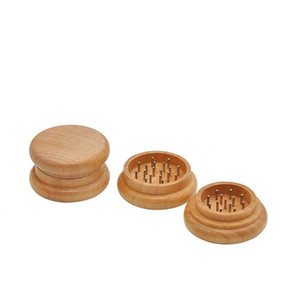 54*31mm Grinders Tobacco Tobacco Smoke Crusher Hand Muller Shredder Wood Portable Herb Grinders Tob wmtcie hxclothes