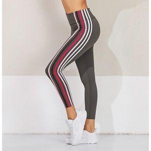 Fitness Neuvième Courir Tight Pants Yoga Sports Bar Couleur