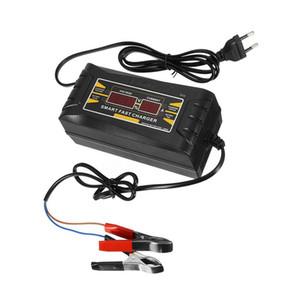 Completa auto automatica caricabatteria 110V / 220V a 12V 6A 10ASmart veloce di carico di potere Per asciutto bagnato Piombo Display LCD Acid Digital EU Plug