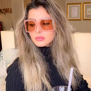 2020 Classic selling new large frame fashion sunglasses UV400 sunglasses trend arc frame oversize for men and women