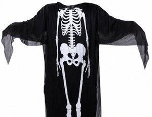 Halloween Kostüme Capes Erwachsene Kinder-Partei-Verein Geist Cosplay Menschliches Körperstruktur Print Kostüme Herren Damen Kinder Capes Cosplay DWPc #