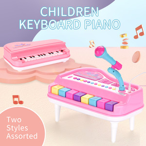 2020 Electronic piano toy Beginners Piano children microphone microphone educational boy girl musical instrument birthday gift
