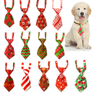 Christmas Dog Ties Small Cat Ties Xmas Puppy Dog Neckties Bow Ties Christmas Festival Dog Accessories