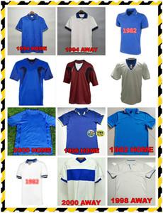 Paolo Rossi Maglia 1982 Retro Fussball Jerseys Italien Camiseta Weltmeisterschaft 1986 90 94 96 98 2000 2006 MAILLOT R.Baggio Totti Pirlo Football