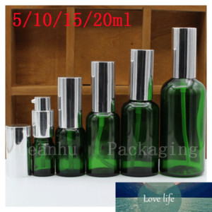 Green Essential oil Bottle,Glass Pump Bottles,For oil, the Essence of The Container, ,Special Personal Care,Beauty &Skin Care