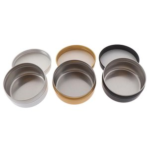 50ml Mini Tin Refillable Bottle Box Sealed Jar Packing Boxes Jewelry, Candy Box Small Storage Boxes Coin Earrings Gift
