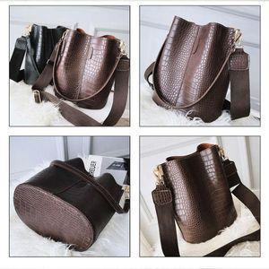 Handbags Purses Crossbody And For PU Brand Bag Shoulder Bag Luxury Bags Leather Bucket Designer Female Crocodile Women Vintage Jclxk