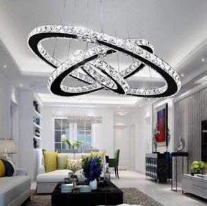 Modern K9 Kristal LED Avize Işıkları Ev Aydınlatma Krom Luster Avizeler Tavan Kolye Fikstür Oturma Odası için