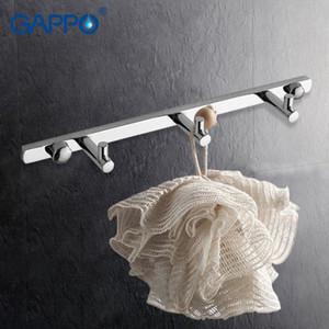 Gappo 1 set dei vestiti del gancio moderni accessori da bagno 3 Ganci per montaggio a parete zircalloy gancio supporto del tovagliolo di bagno Torre Ganci GA202-3 jx33 #