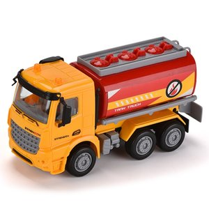 Simulation of inertial engineering vehicle Kid fun and puzzle toy gift car ABS material friction drive