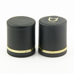 Professional Black Leather Color Cup, Creative Entertainment, Drinking, Game and Toy Pu Sieve Cup H1NA