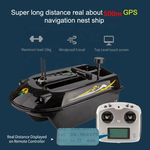 New Sea Fishing Bait Boat GPS Auto Navigation 3 Hull 4 Boay 8kg Loading 500M RC Distance Fishing lure Nest Boat Nesting Boat Toy