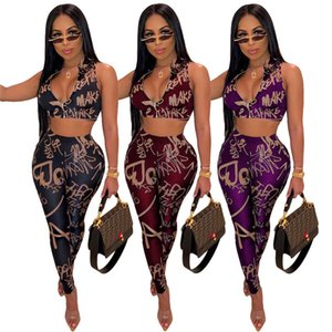 womens jacket sexy sleeveless outfits tracksuit jacket pants sportswear legging 2 piece set sweat suit outerwear pantsuit sweat set klw0511