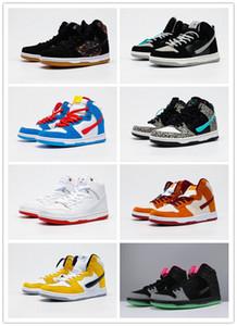 2020 pies suaves y cómodos SB Dunk High Cut Moda Skate Shoes Mujeres Diseñadores Zapatillas de deporte Zapato de correr al aire libre Tamaño 36-45
