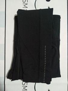 L-32 Ejecución de yoga de la aptitud leggins color sólido de yoga pantalones de las medias de la yoga flacos de las polainas de la alta cintura de culturismo de gimnasio de ropa para mujer de entrenamiento