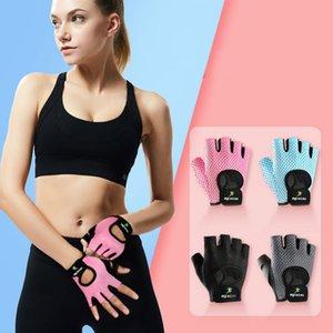 Gants Fitness professionnel Yoga non-Slip exercice Half Finger Hommes Femmes Puissance Haltérophilie accessoire-main à vélo