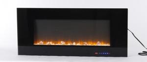 ABD STOK 1500 / 750W Valuxhome Elektrik Şömine, 42 İnç Duvar Aşırı ısınma koruma D14703434 ile şömine Monteli