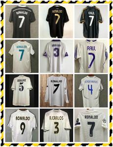 ريترو لكرة القدم جيرسي ريال مدريد 2004 2008 2013 2014 2016 2017 رونالدو بنزيما بيل ISCO 2014 2015 ثالث أسود كرة القدم قميص التنين
