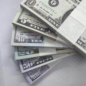 20 Money Billet Banknote Gift 5 La-012 1 Fake 100 Children 50 Toy Prop Collection Play Ticket Counterfeit Dollar 10 Scibw Vsedb