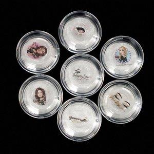 50 / 100шт заказ Прозрачный Пластиковые Ресницы Упаковка Box Поддельные Ресницы лоток для хранения крышка одного случая AIFM #
