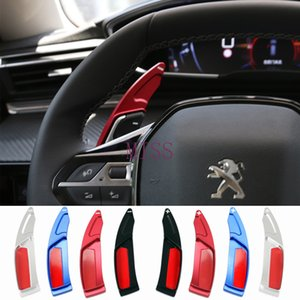 For Peugeot 208 2008 308 3008 508 5008 SW GT Car Steering Wheel Paddle Shift Extension Shifters the rudder DSG gear Car Stickers