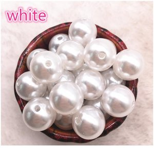 Wholesale 6-16mm Have no Hole White Ivoy Round Imitation Pearl Abs Beads Jewelry Findings Diy Earrings Acc jllaru
