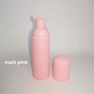 12ps 60ml의 분홍색 플라스틱 폼 펌프 리필 화장품 병을 비우기 황금와 클렌저 비누 디스펜서 샴푸 병 속눈썹