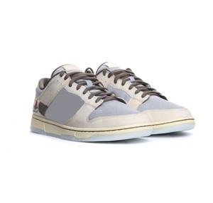 2020 nouvelle version Travis Scott x PlayStation x SB Dunk Cactus Jack Chaussures bas Skateboard Hommes Femmes Blanc Gris Japon Zapatos Sneakers Sport