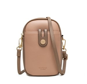 Luxurys designers backpacks Small fresh candy color matching simple multifunctional women's messenger mobile phone bag