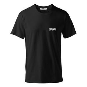 Logo 2020ss Andys Kenzo Europea mercerizado Cotton Patch camiseta de algodón mercerizado Topstoney hombre de las camisetas HFWPTX355