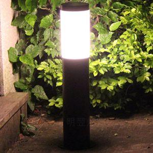 60cm 풍경 포스트 빛 방수 IP65 스테인리스 야외 정원 잔디 기둥 빛 기둥 램프 기둥 빛