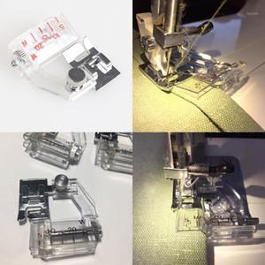 Tapeo de bias ajustable Snap en el pisón de la carpeta Encuadernación ajustable Snap-On Sten Binder Presser Pie Máquina de coser Accesorios1