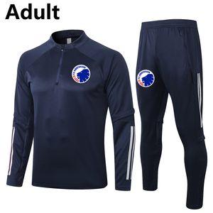 2020 2021 FC COPENHAGEN футбольный спортивный тренер наборы для взрослых футбол бегагинг куртка брюки выжившие спортивные зимние футбол тренировочный костюм