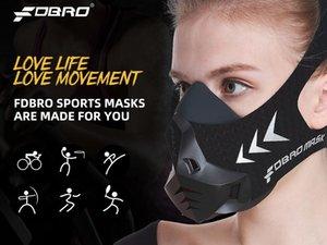 Fdbro Gym Klima Fitness Spor Eğitimi Spor Fdbro Maske Bisiklet Workout Gym Cond Hwtf 3,0 Yükseklik Rakım Yüksek Maskesi Koşu Maske