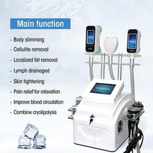 360 지방 냉동 장비 3 곳을 알아내는 2 지방 손잡이가 함께 작업 냉동과 극저온 치료 체중 감소 기계를 처리