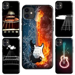 Fire Guitar Music 12 mini Case For iPhone 11 Pro Max XS XR X 6S 7 8 Plus SE 2020 Cover