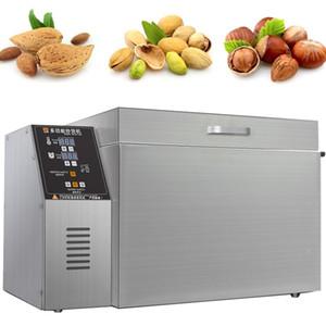 Machine de torréfaction de cacahuète commerciale / rôtissoire en noyer / machines de torréfaction de la torréfaction de grains de café Machine de traitement de noix MachinecaShew