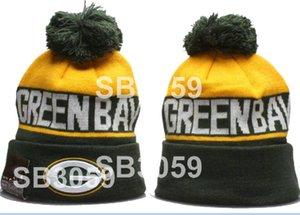 2020 Green Bay hiver Bonnet Sideline temps froid Sport Bonnet laine tricotée Bonnet adulte baseball chaud Cap Bonnet A06