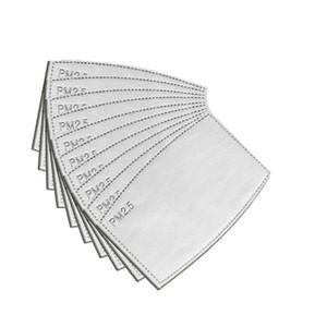 Antipolvere goccioline sostituibile Mask Cartuccia filtro per Mask Paper Haze Bocca PM2.5 Filtri Maschere inserto sostituibile Filtro Pad CCA12624