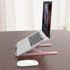 Supporto Laptop supporto regolabile per notebook pieghevole antisdrucciolevole del Desktop Holder riser in alluminio Tablet Staffa