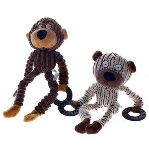 Holapet 1 Pc animal Designs chien Jouets pour animaux Puppy Chew Siffleur Squeak peluche son jouet Produits pour animaux de compagnie pour les petits chiens Animaux - 2 styles
