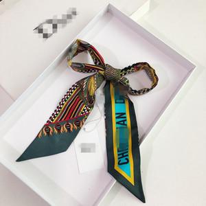 MItzah Terra di lusso dello stilista donne sciarpa del Tutto-fiammifero avvolge floreale elegante Dot estate capo del collo dei capelli fascia del legame Bandana cd