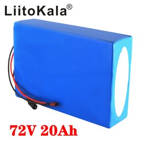 LiitoKala 20S 72V 20Ah 30Ah 40Ah 50Ah electric bike battery 21700 5000mAh cell 72V electric scooter lithium battery with BMS