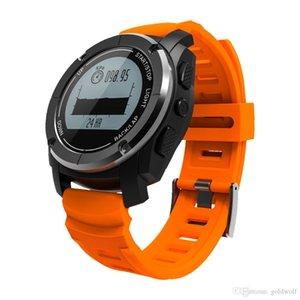 1 шт. S928 GPS Sport Smart Watch Relob Ride Run G-Sensor Частота сердечных частот Давление высота Водонепроницаемый Bluetooth наручные часы Бесплатная доставка